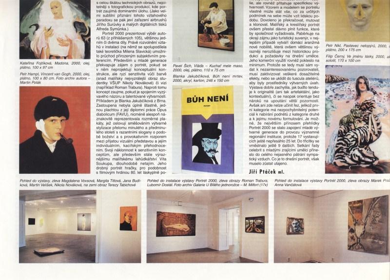 Portrét roku 2000, Ateliér 4/2001